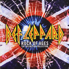 2CD DEF LEPPARD ROCK OF AGES THE DEFINITIVE COLLECTION used