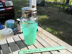 Vintage Blendo Frosted Mint Green Fade Cocktail Shaker