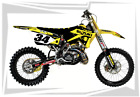 2001-2012 RM 125 250 GRAPHICS RM125 RM250 SUZUKI MOTOCROSS DIRT BIKE MX DECALS E