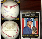 Clayton Kershaw Rookie Cards and Autograph Memorabilia Guide 54
