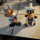 Bugs Bunny  Daffy Duck As Cowboys Salt  Pepper Shakers 5