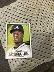 TOPPS GALLERY 2018 TOP LOADER BOX TOPPER RONALD ACUÑA JR ROOKIE CARD