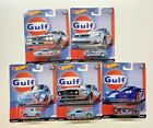 HOT WHEELS 2019 CAR CULTURE GULF RACING COMPLETE SET OF 5 VW MUSTANG IN STOCK