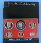 1979 S Proof Set All 6 coins Type 2 Including Kennedy  SBA Dollar