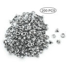200 PCS 1 8 Silver Eyelets Scrapbooking Card Making Luggage Cruise Pet ID Tag