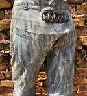 Vintage Runway Mens Dsquared Tie Dyed One Of Cargo Pants Jeans Used on Cat Walk