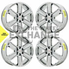 20 GMC Acadia Denali PVD Chrome wheels rims Factory OEM 2017 2018 2019 2020 set