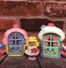 VTG Cherry Merry Muffin Miniatures Houses Cupcake Ice Cream 1989 Toy Doll Mattel