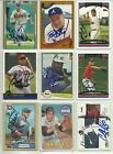 46 YESTERYEAR AUTOGRAPHED ATLANTA BRAVES BASEBALL CARDS LOT