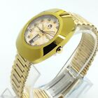 VINTAGE MEN'S RADO DIASTAR 35MM AUTOMATIC DAY DATE WRIST WATCH M9397