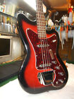 RARE 1960'S VINTAGE BASS GUITAR SILVERTONE AIRLINE KAY  NATIONAL HARMONY Case