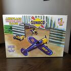 Spec Cast Sunoco Model R Mystery Ship Airplane Bank With Box
