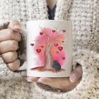 Cute Cat Hugging Love Tree Mug Valentine Gift White Ceramic 11oz Coffee Tea Cup