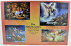 SunsOut Puzzles The Nativity Series 4 Jigsaw Puzzles in One Box NEW
