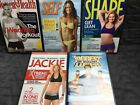 Workout DVD Lot Biggest Loser Self Shape Womens Health Jackie Exercise Fitness