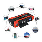 New 89800mah 12vusb Charger Battery Power Bank Lcd Car Jump Starter Pack Booster
