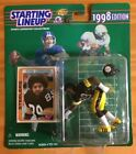 Bennie Cunningham Pittsburgh Steelers Custom Starting Lineup SLU NFL Football