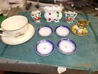 Vintage / Antique 11 Piece mixed Lot of UnKnown Glassware