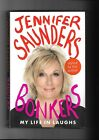JENNIFER SAUNDERS BONKERS MY LIFE IN LAUGHS SIGNED VGC