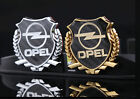 1x 3d Car Side Metal Badge Car Emblem Car Decal Sticker Fit For Opel Auto