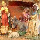 Christmas Nativity Figurine Creche Wood Vintage ITALY Apartment Small Size 115
