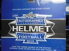 2018 Leaf Autographed Full Size Football Helmet Factory Sealed Unopened Box NEW