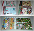 Christmas Scrapbook Kit Lot Basic Grey Bo Bunny  SEI 45+ Value