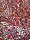 8 x 10 or 7.4 x 9.10 Vintage Top Quality Persian Heriz Rug Serapi Antique