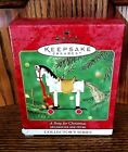 NEW IN BOX ! 2000 Hallmark Ornament, A Pony For Christmas #3 in Series