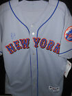 YOENIS CESPEDES SIGNED JERSEY-NEW YORK METS-AUTHENTIC MAJESTIC-ROAD JERSEY RARE!