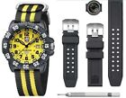 Luminox Scott Cassell Dive Set Yellow Dial Carbon Watch Special Edition