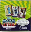 2016-17 Topps Match Attax Premier League Nordic Edition Trading Cards Box