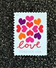 2019USA Forever Love Series Heart Blossoms Single Stamp Postage Mint NH