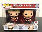 Funko Pop WWE Enzo AMORE & Big CASS New Walgreens Exclusive 2-Pack Box Not Mint