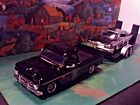 124 Scale Diecast 3 piece Matched Set1966 Chevy Pickup1962 Impala