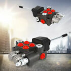 2 Spool Hydraulic Directional Control Valve Double Acting Cylinder Spool 40l min