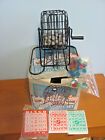 CARDINAL CLASSIC GAMES DELUXE METAL BINGO CAGE SET WITH CARDS AND MARKERS