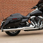 SS Cycle Chrome Sidewinder 2 into 1 Exhaust System 550 0776