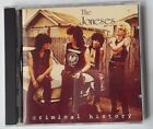 The Joneses Criminal History CD Sympathy Record Industry Records Glam Punk Rock