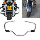 Front Engine Guard Crash Bar For Harley Electra Glide Classic Fire/Rescue FLHTC