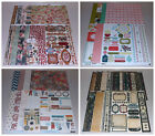 Vintage Scrapbook Kit Lot Basic Grey Bo Bunny TPC Studio Teresa Collins