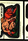 1974 1975 TOPPS MARVEL COMIC BOOK HEROES STICKER SET ACETATE 24 TEST PROOF CMB