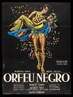 BLACK ORPHEUS  CineMasterpieces FRANCE ORFEU NEGRO 1959 ORIGINAL MOVIE POSTER