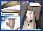 VW T6 T5 T4 SWB Camper Van LIGHTWEIGHT MDF 2 Door Kitchen Units w OH Shelf DIY