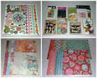 Huge Boho Floral Scrapbook Lot Basic Grey Tim Holtz Prima K