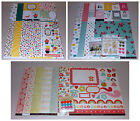 Girl Themed Scrapbook Kit Lot Crate Paper Echo Park My Minds Eye 40 Value