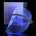 Magic Red Blue Yellow LED Light Photon Therapy Facial Mask Anti aging Skin Care