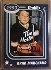 🚨 2018 19 UD BRAD MARCHAND TIM HORTONS TIMBITS AUTOGRAPH ⭐️ 27 100 🚨RARE!!!