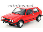 WELLY 18039 1983 83 VW VOLKSWAGEN GOLF 1 GTI 1 18 DIECAST MODEL CAR RED
