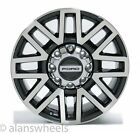 4 Ford F250 F350 SD Factory OEM 20 Charcoal Machined Wheels Rims Lugs 10104